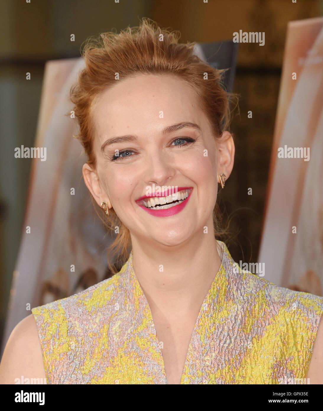 JESS WEIXLER US film actress in August 2016. Photo Jeffrey Mayer - Stock Image