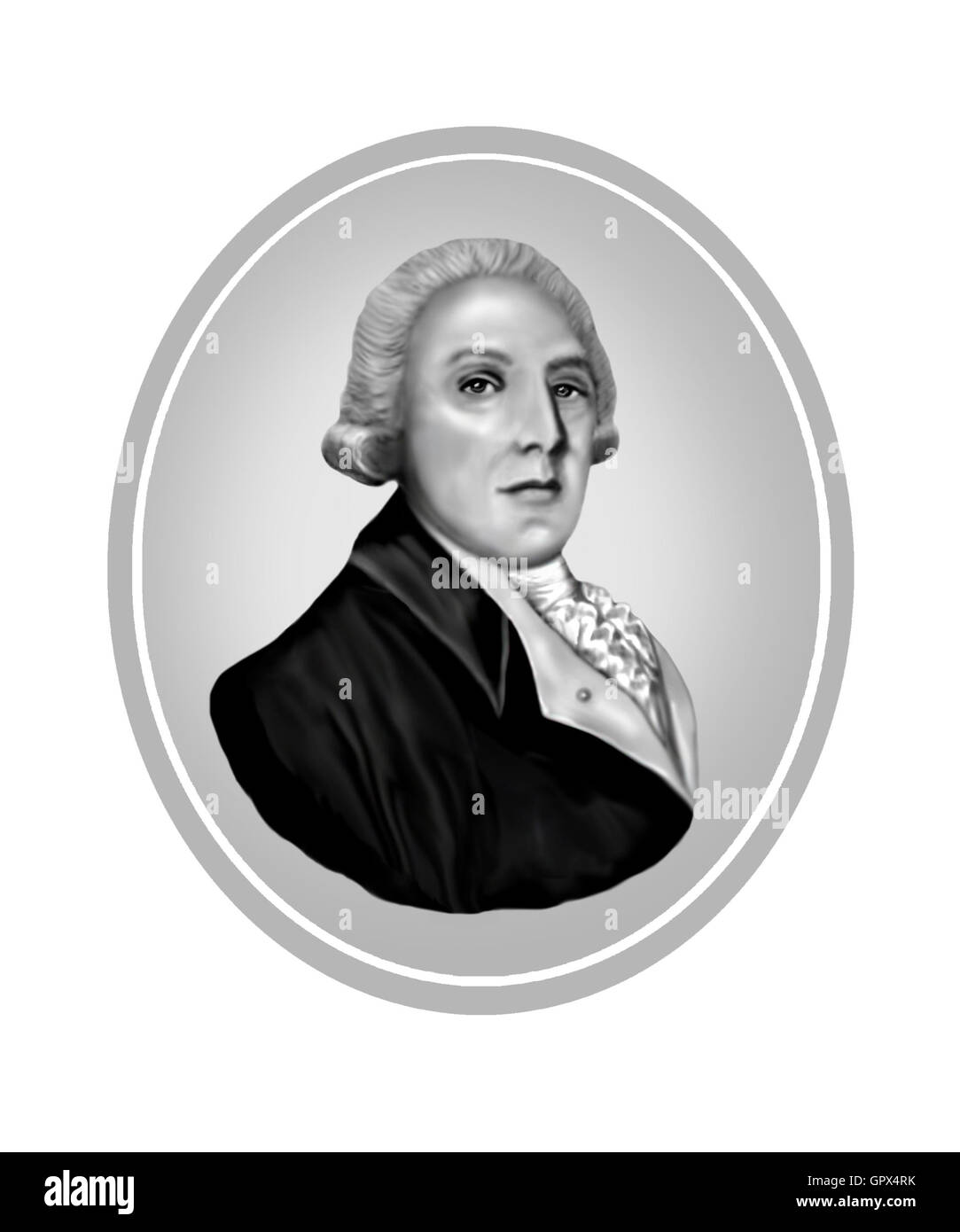 George Bass, 1771-1803, Naval Surgeon, Explorer - Stock Image