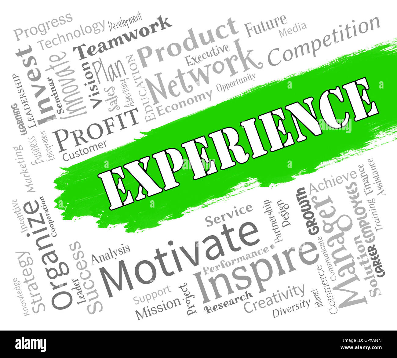 What is the experience word meaning 2
