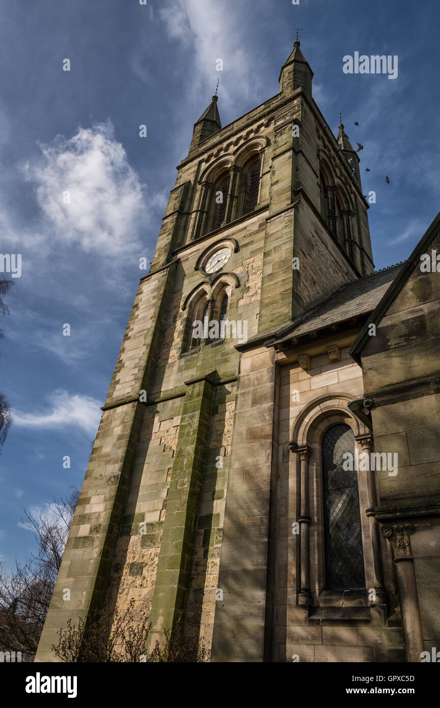 The Church of All Saints is an Anglican parish church serving the town of Helmsley in North Yorkshire, England. - Stock Image