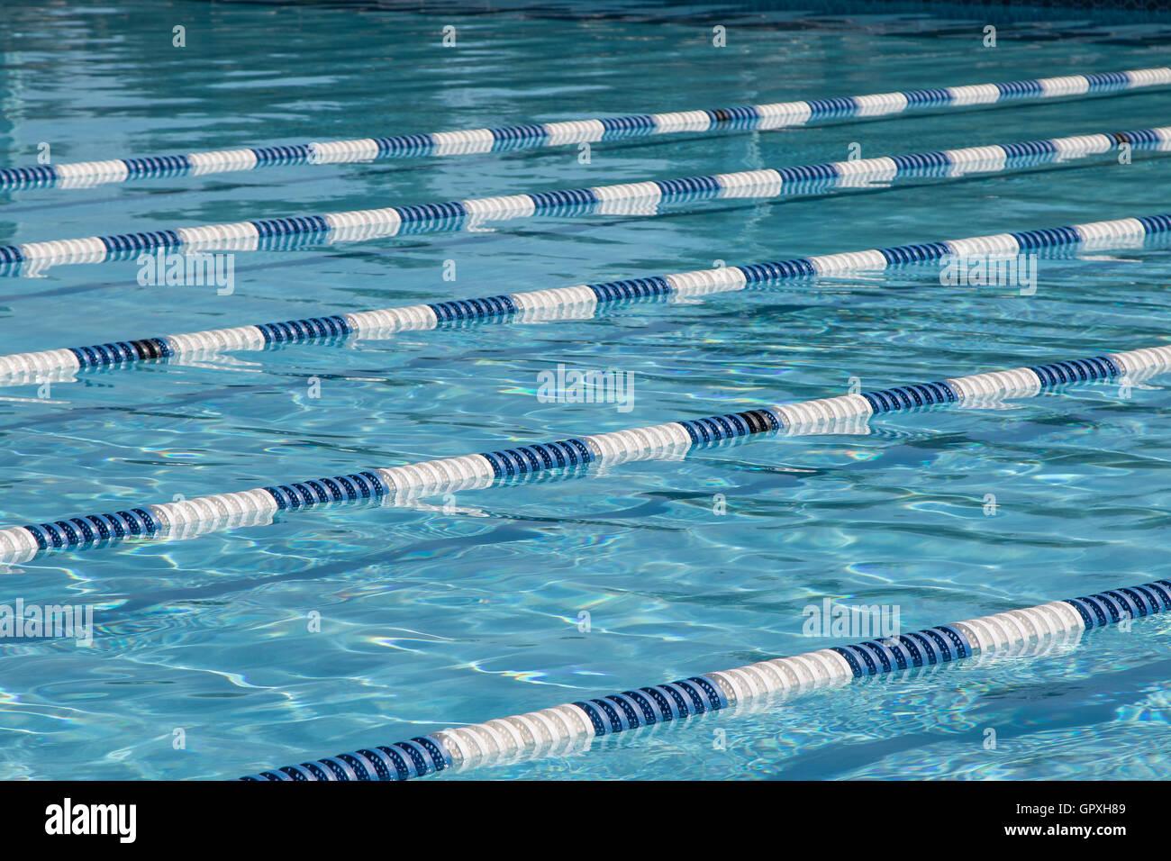 Swimming Pool Lanes Stock Photos Amp Swimming Pool Lanes