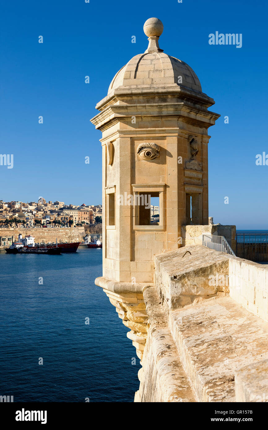 The Guardiola in Valletta, Malta Stock Photo