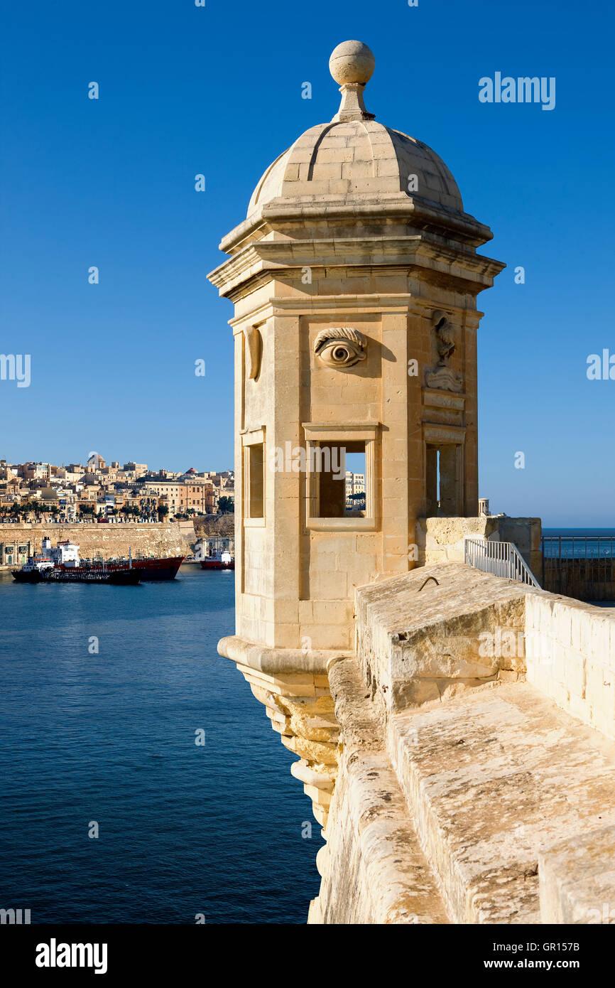 The Guardiola in Valletta, Malta - Stock Image