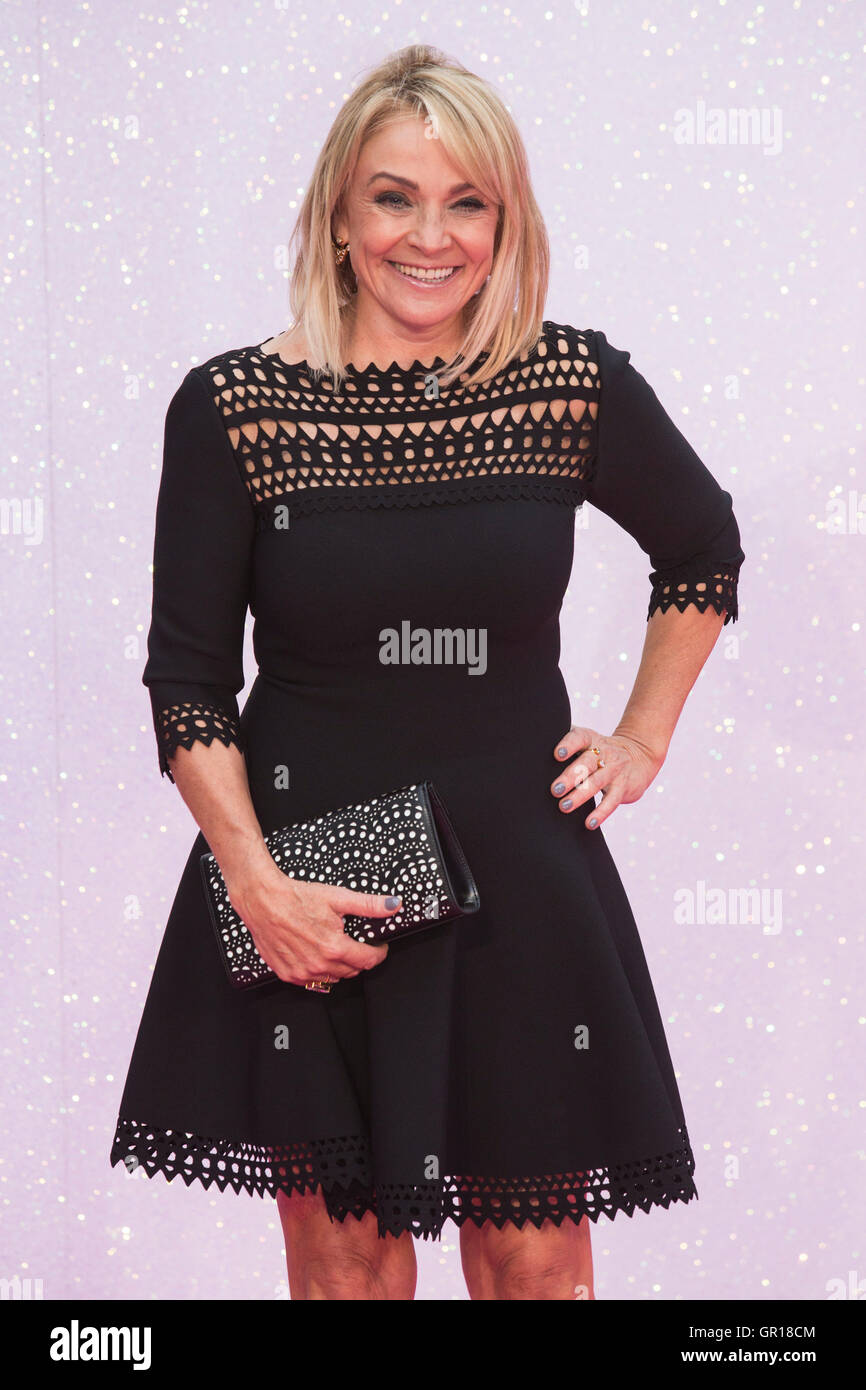 London, UK. 5 September 2016. Author Helen Fielding. VIP red carpet arrivals for the World Premiere of the movie - Stock Image
