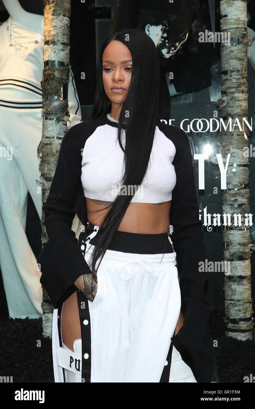 Rihanna at Rihanna Fenty Puma Pop Up Shop at Bergdorf Goodman on September  6 66939bdd748e