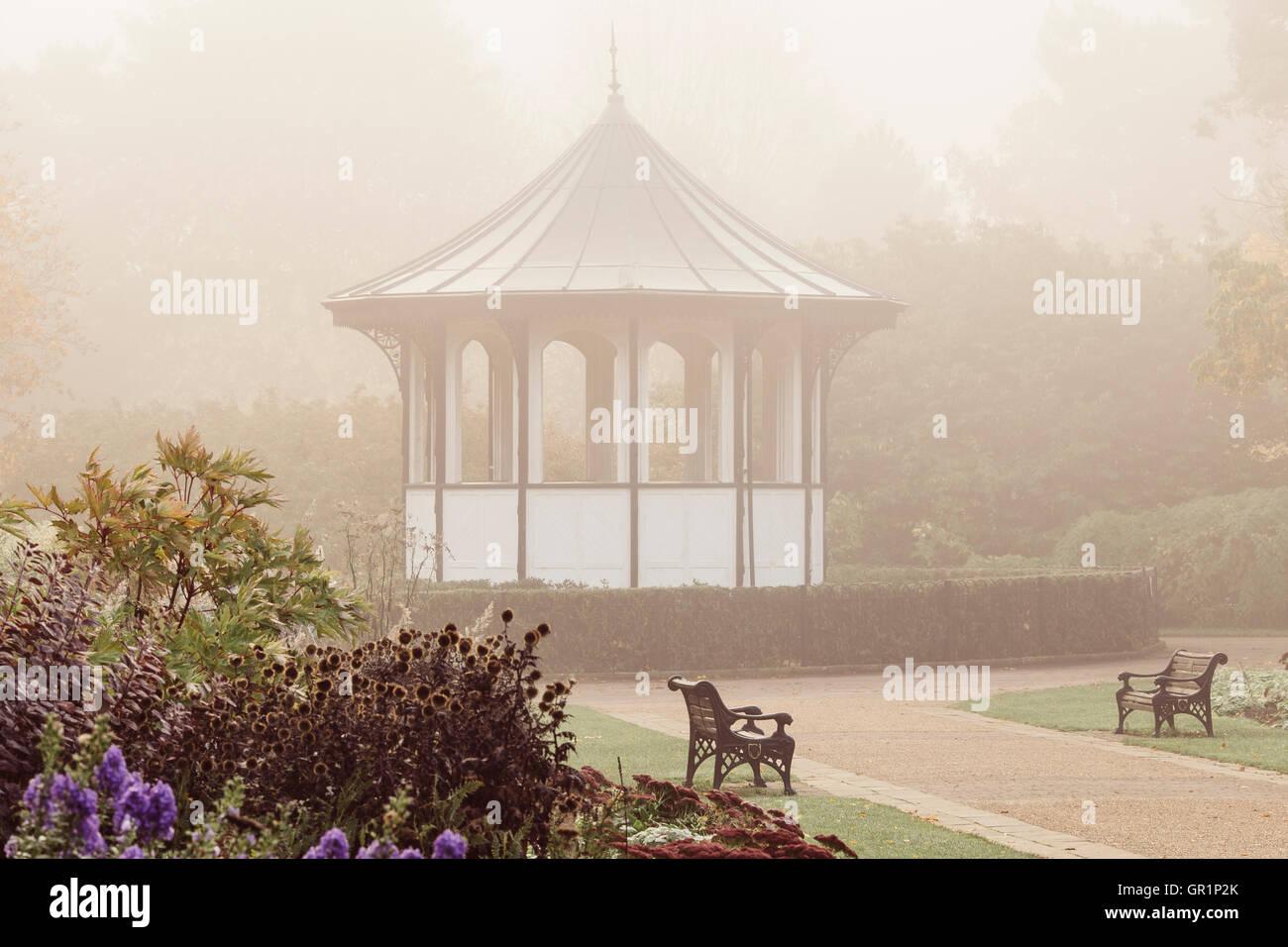 Bedford Park Bandstand - Stock Image