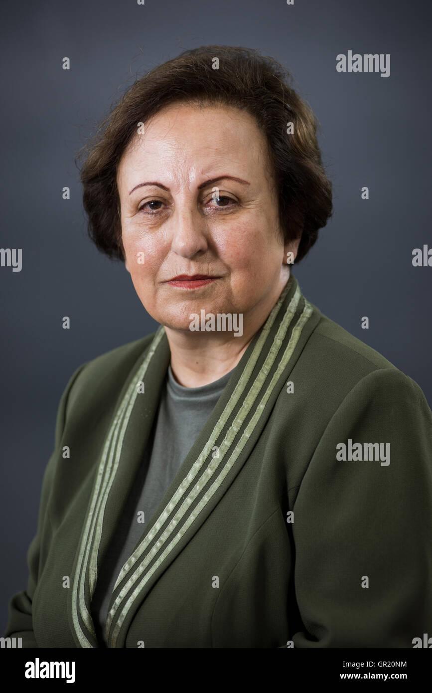Iranian lawyer and Human Rights activist Shirin Ebadi.Stock Photo