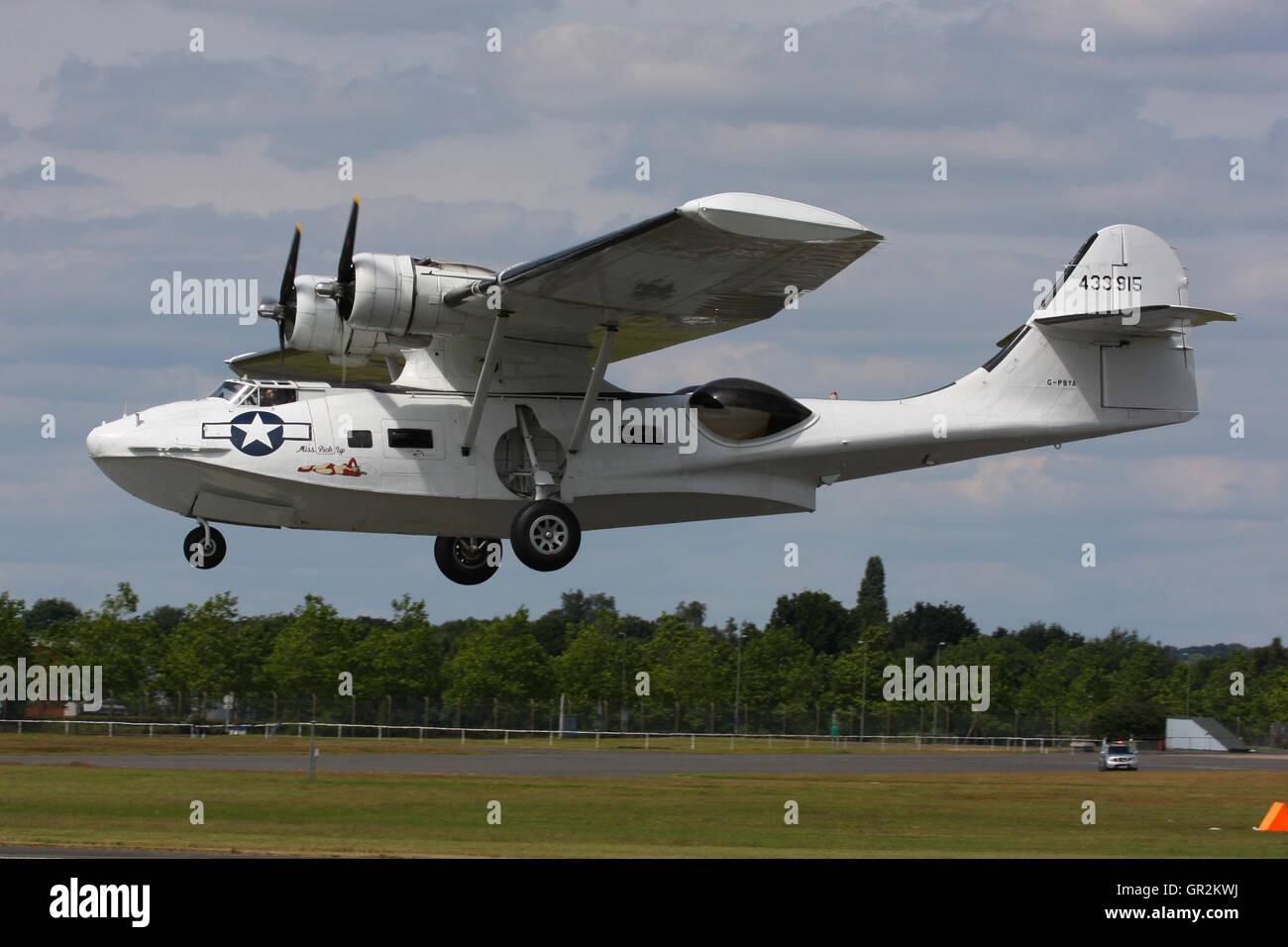 CATALINA PBY FLYING BOAT - Stock Image