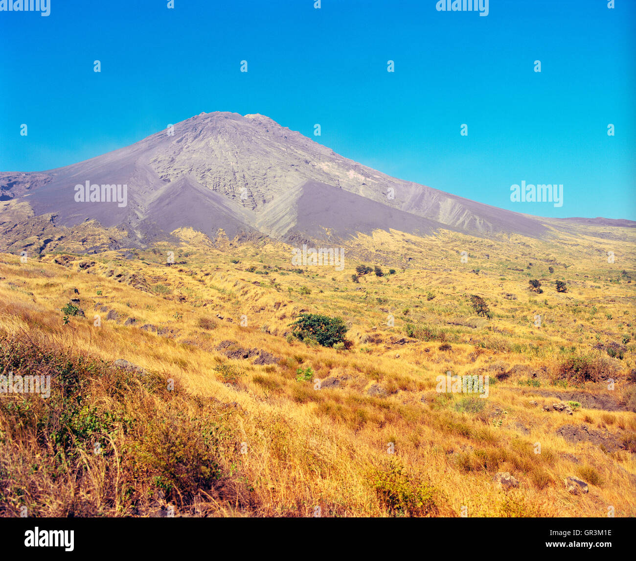 Pico de Fogo. Fogo, Cape Verde Islands, Africa. - Stock Image
