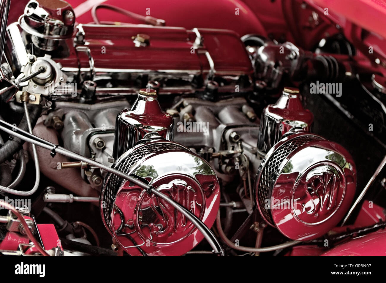 Car engine - Stock Image