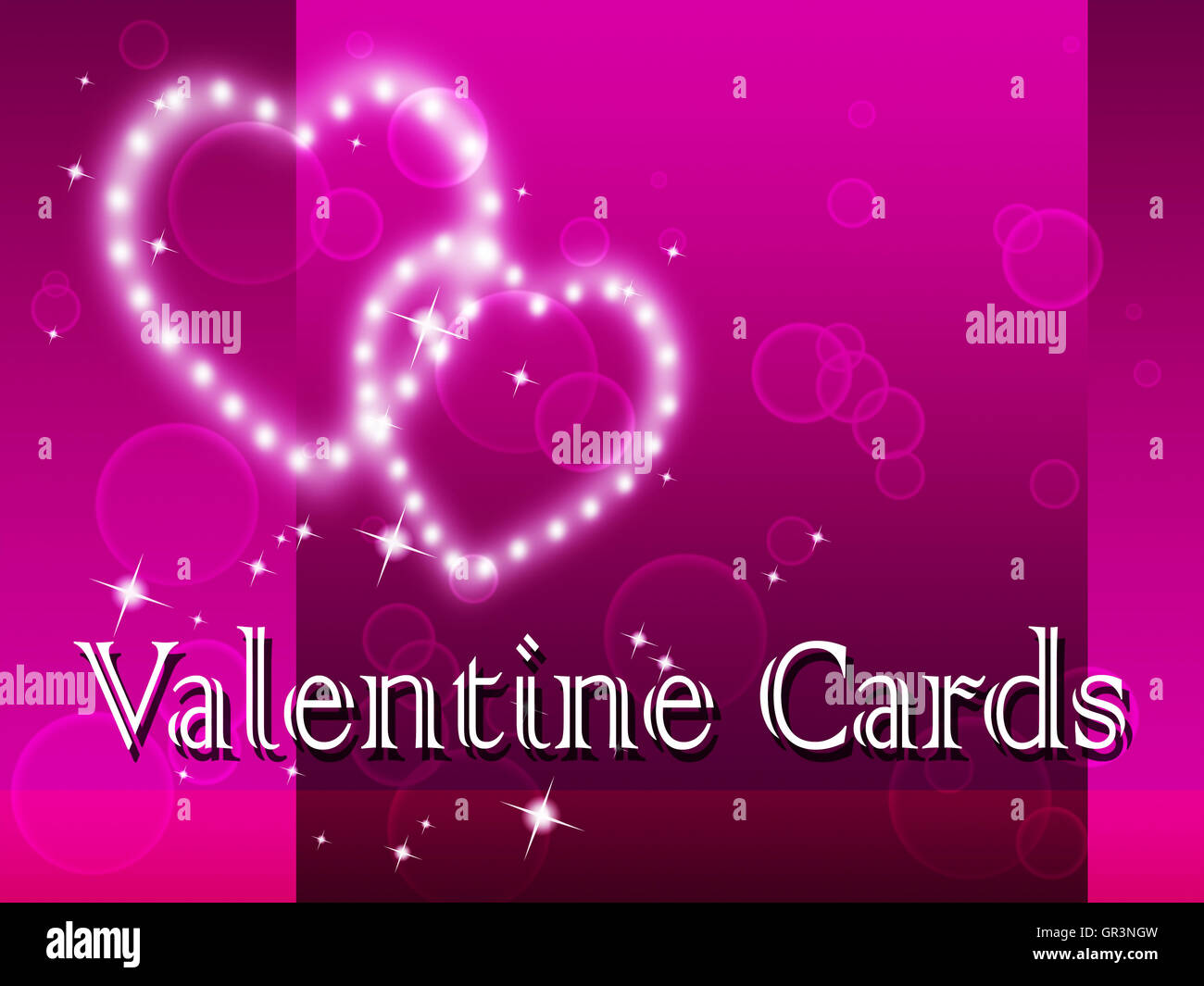Valentines Day Cards Stock Photos Valentines Day Cards Stock