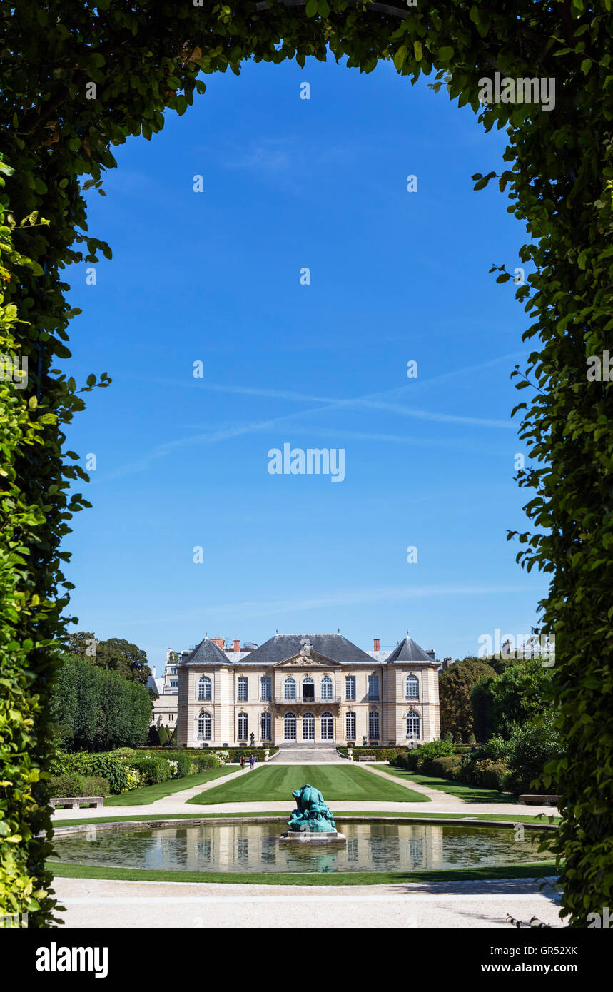 The Musée Rodin, Paris, France - Stock Image