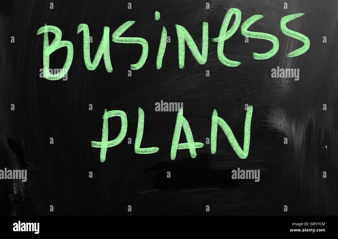 business plan - Stock Image