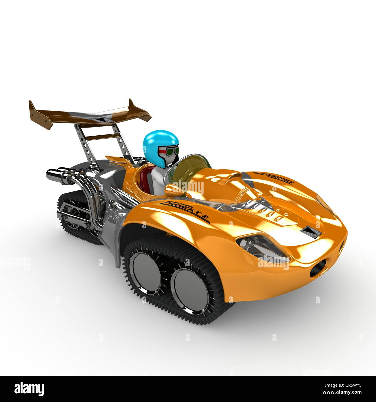 racer two - Stock Image