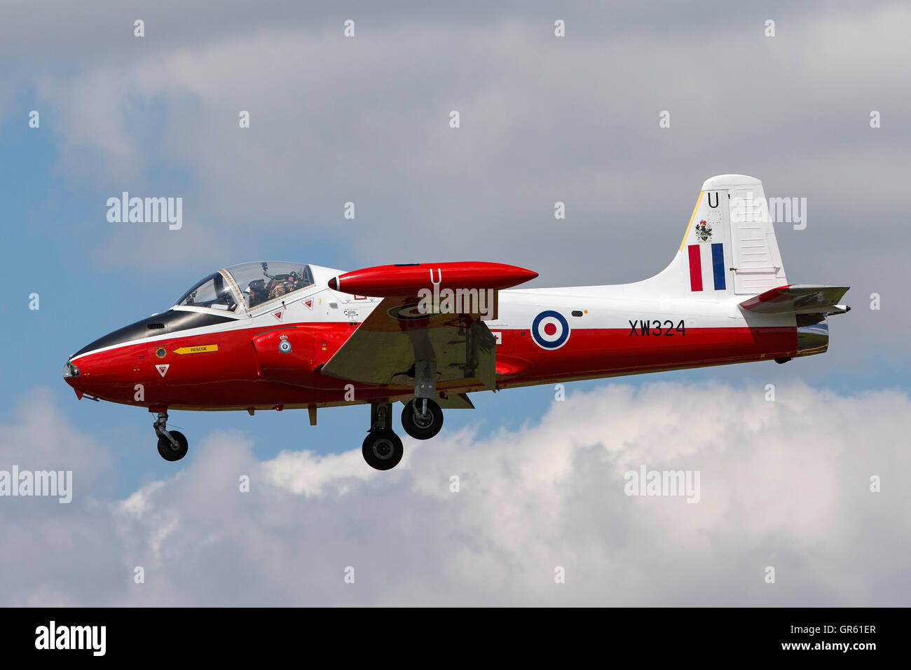 BAC Jet Provost T4 G-BWSG Stock Photo