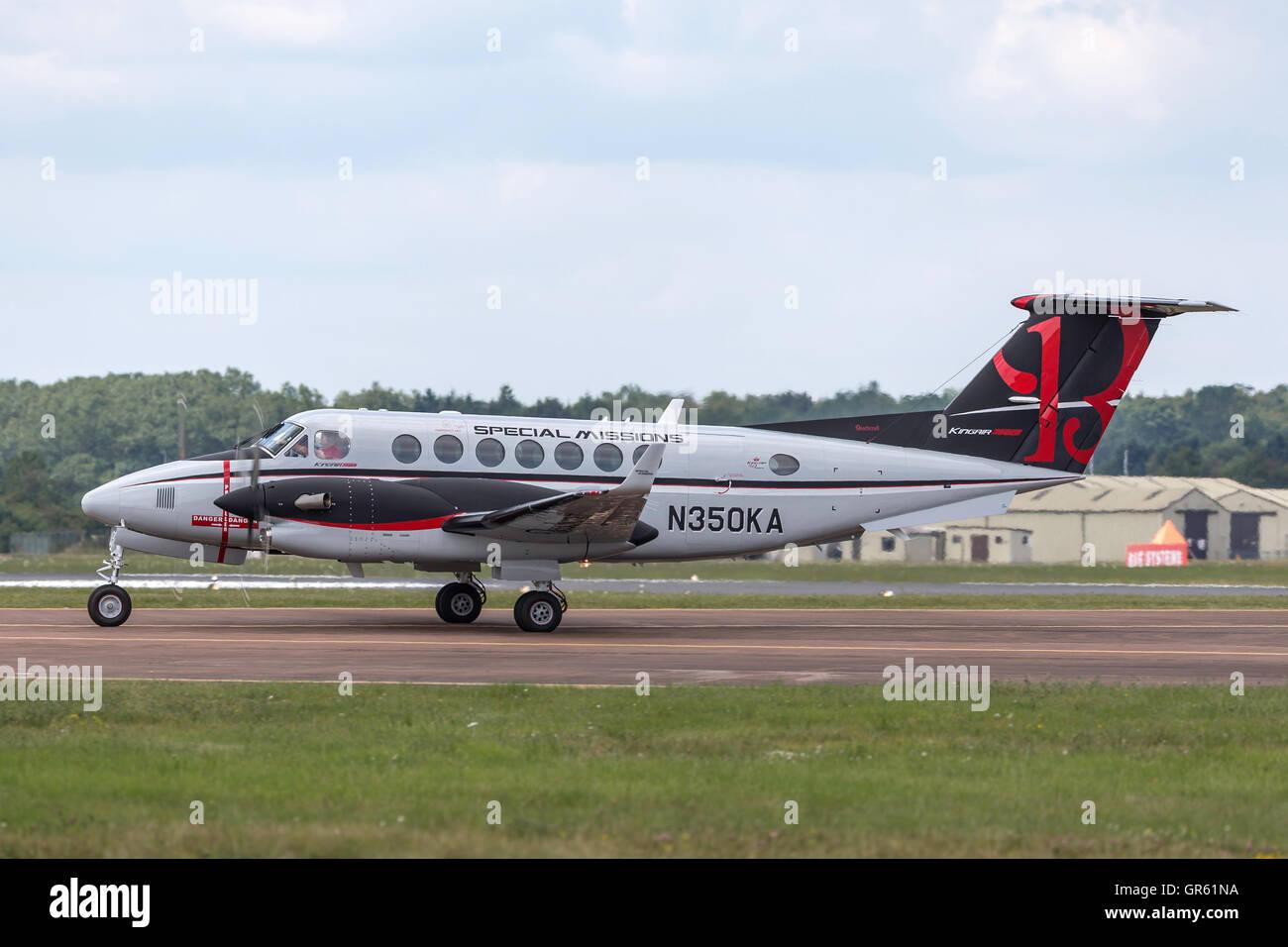 Hawker Beechcraft B300 King Air 350 - Stock Image
