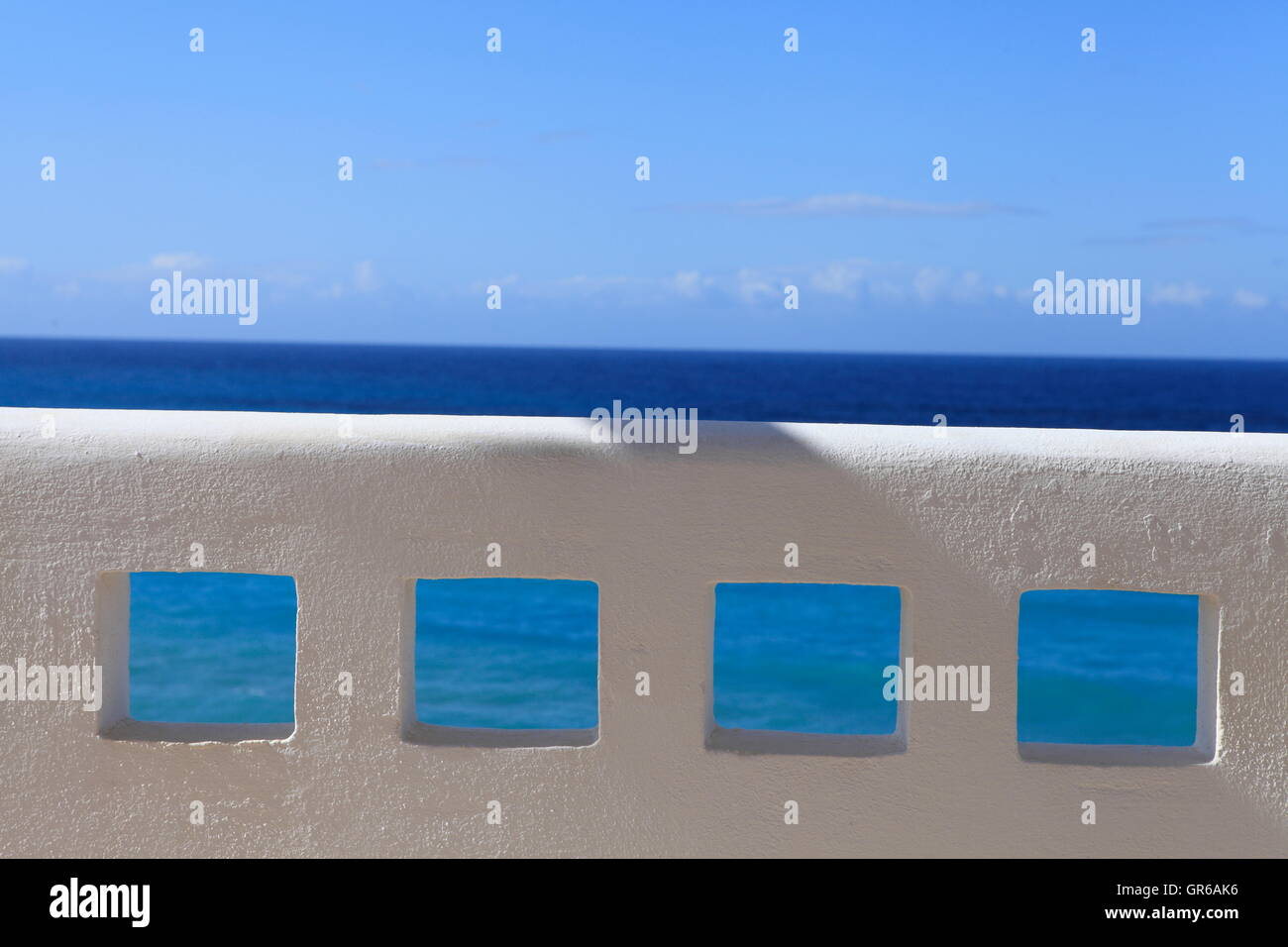 Seaside Holiday Stock Photo