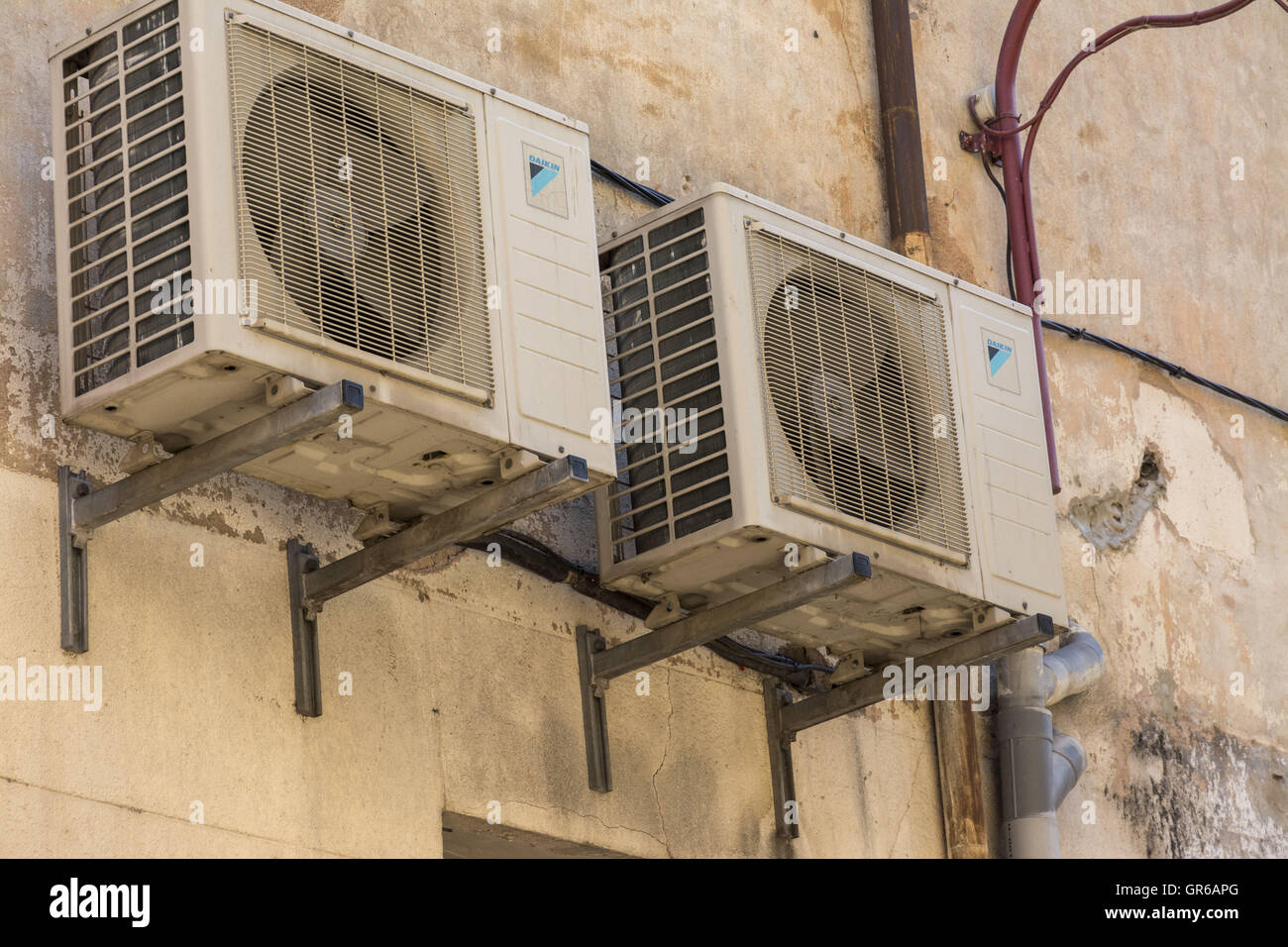 Air Conditioning - Stock Image