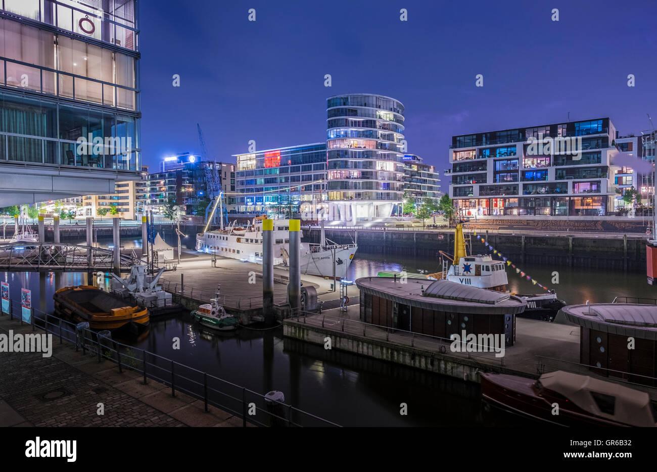 Harborcity - Stock Image