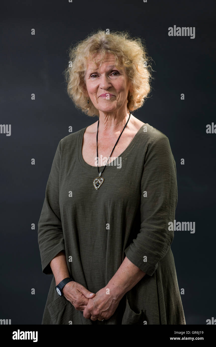 Scottish author, musician and storyteller Jess Smith. - Stock Image