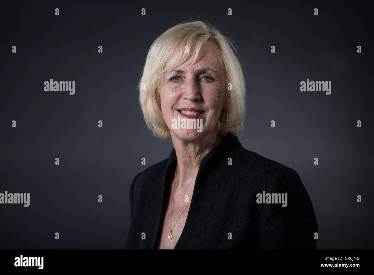 Tartan Noir crime novelist and screenwriter Lin Anderson. - Stock Image