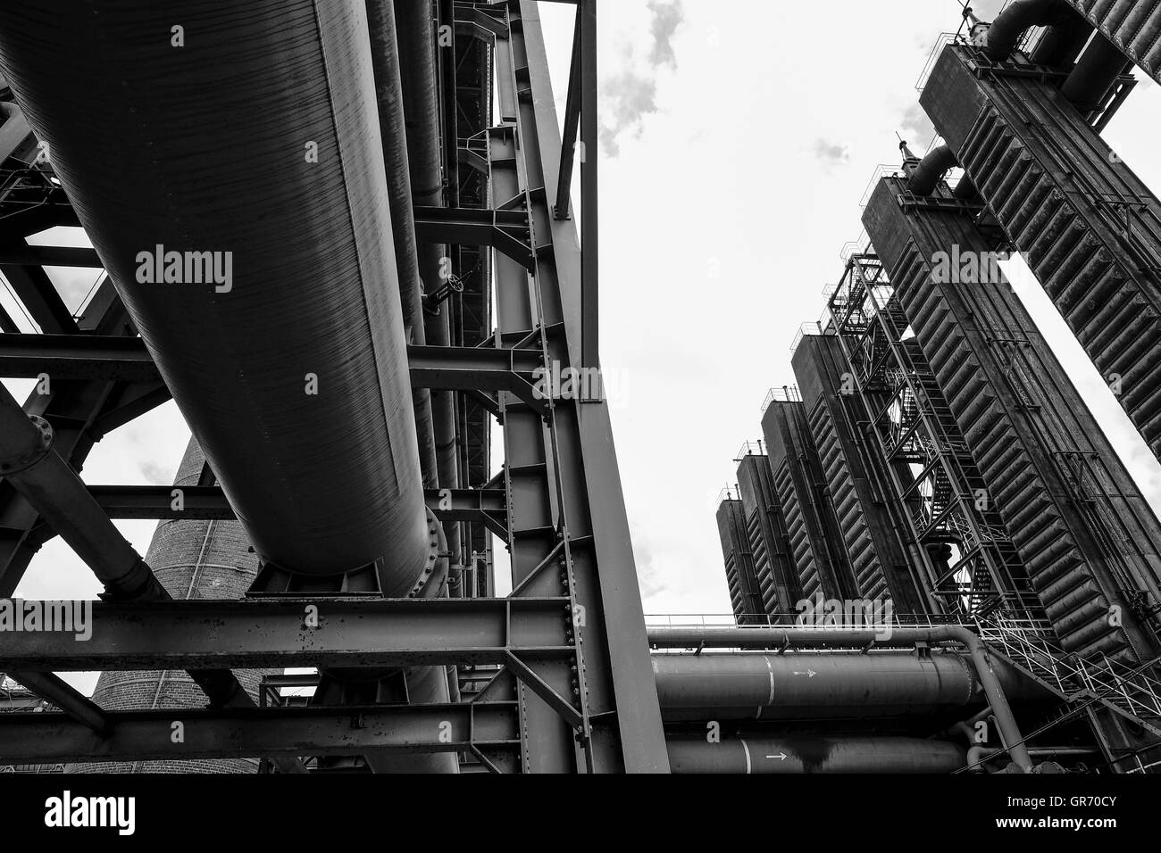 Zeche Zollverein - Stock Image