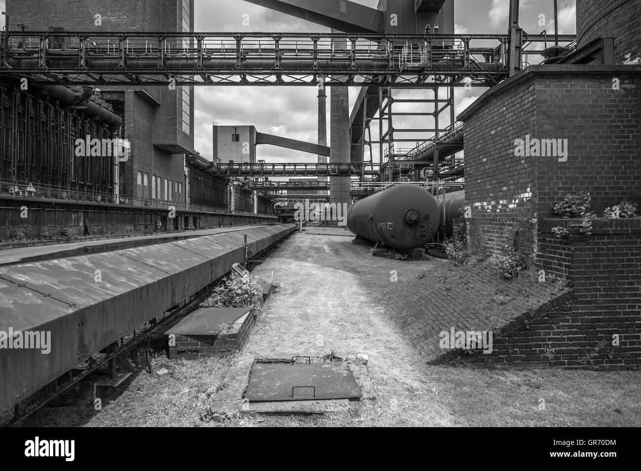 Zeche Zollverein - Stock Image
