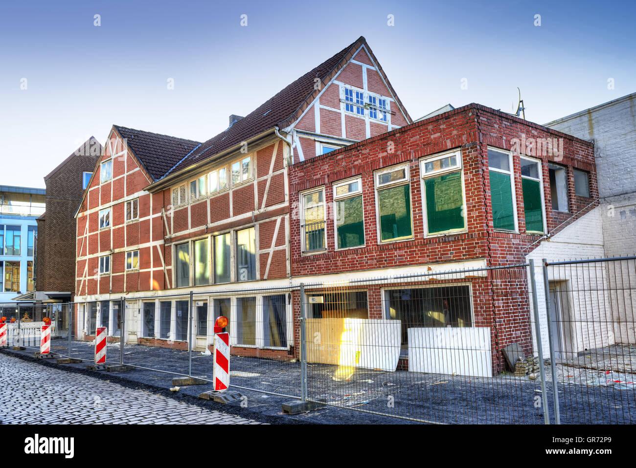 Schuettfort Storehouse In Hamburg, Germany - Stock Image