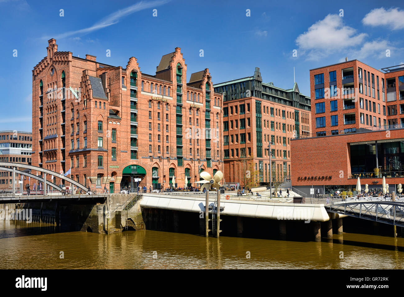 International Maritime Museum In Hamburg, Germany - Stock Image
