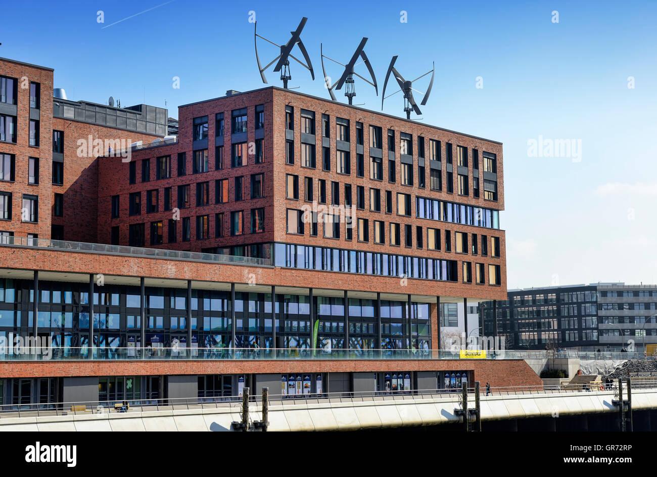 Office Of Greenpeace In Hamburg, Germany - Stock Image