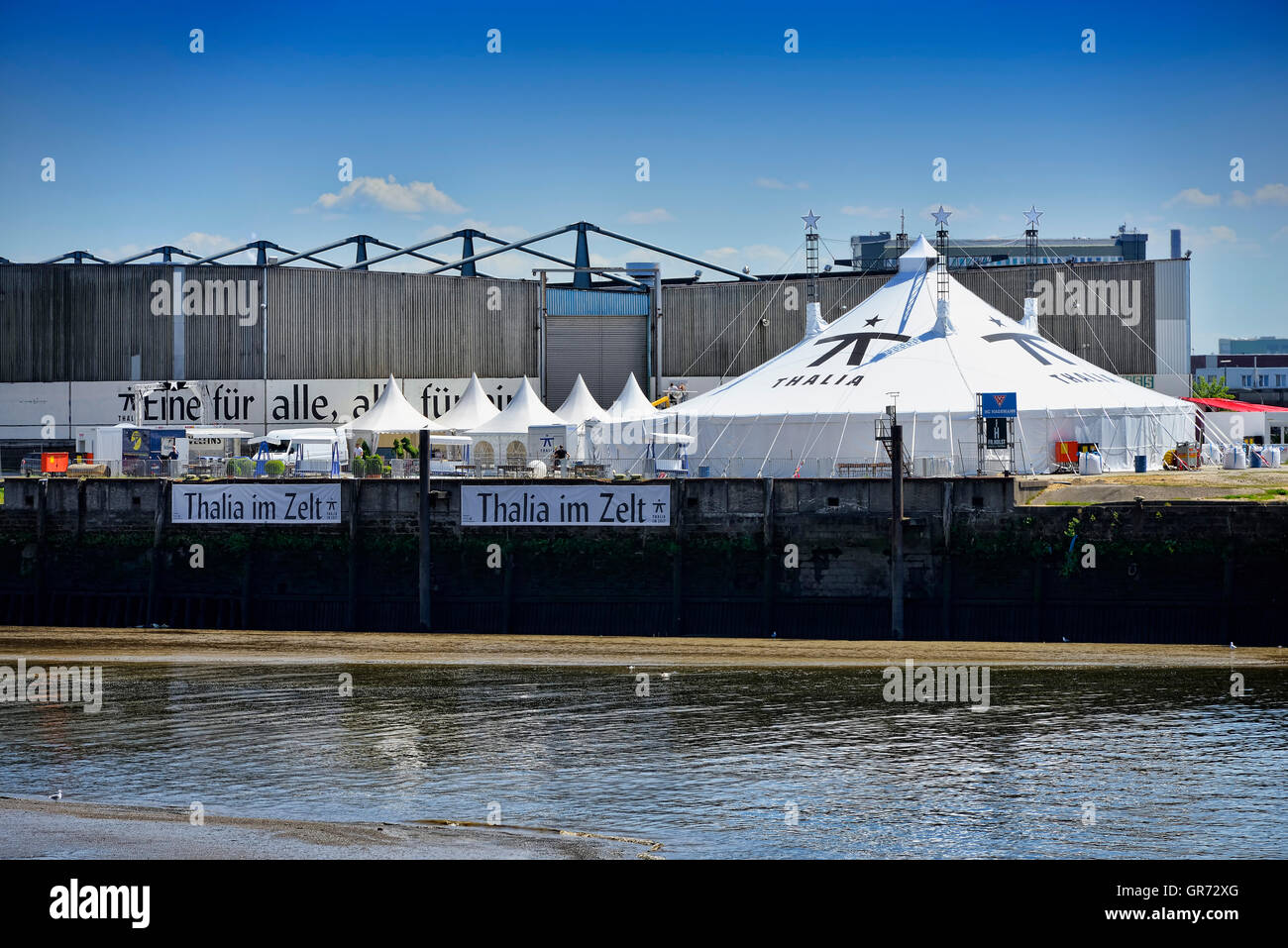 Thalia Im Zelt In Hamburg, Germany - Stock Image