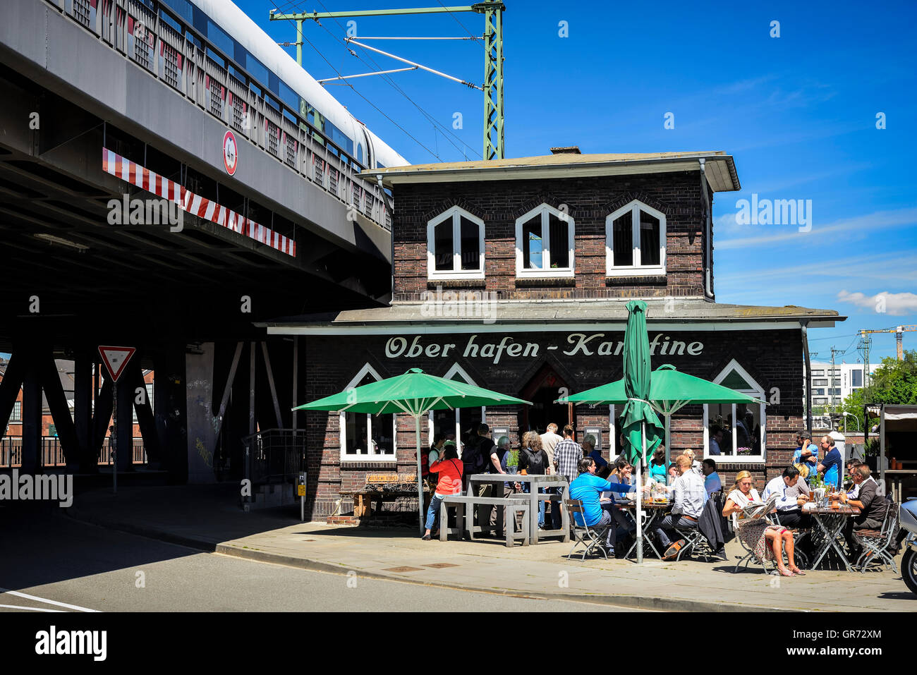 Oberhafen-Kantine In Hamburg, Germany - Stock Image