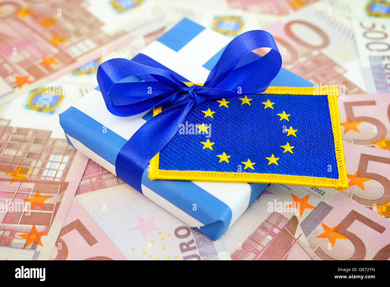 Greek Bailout Package - Stock Image