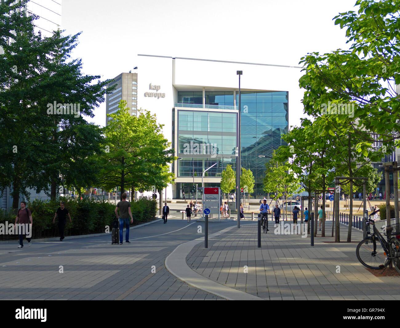 Kap Europa Congress center Frankfurt am Main Germany Europe - Stock Image
