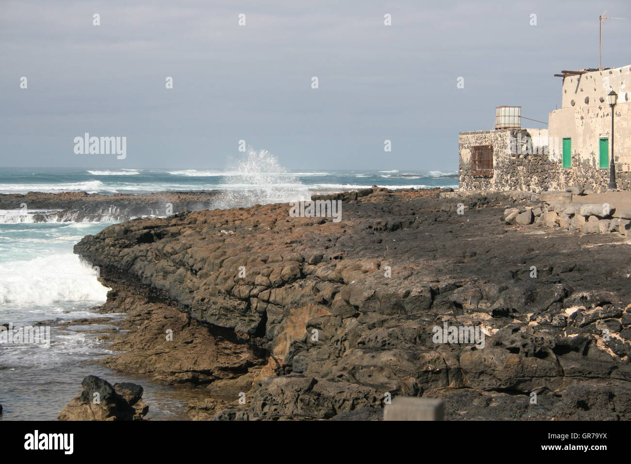 Forces Of Nature In Fuerteventura - Stock Image