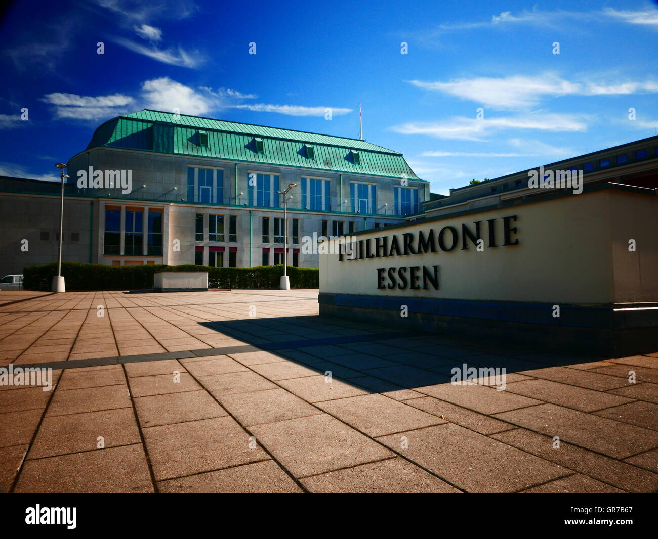 Phiharmonie Essen Nordrhein Westfalan Germany Europe - Stock Image