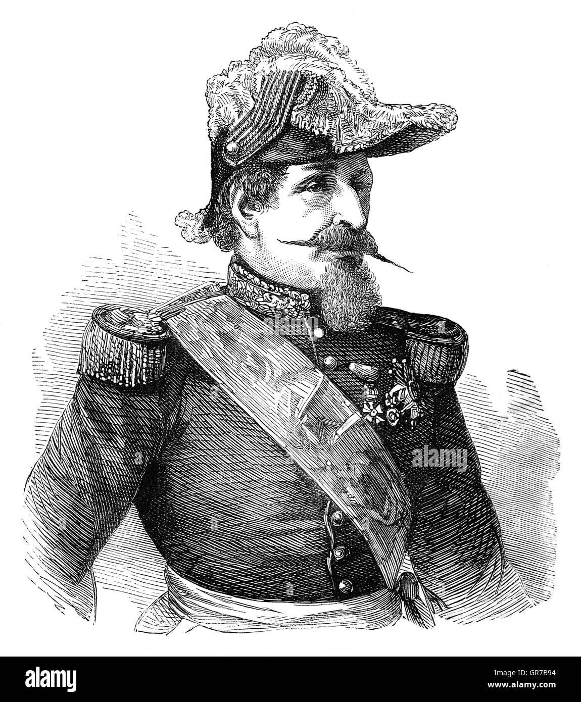 Louis-Napoléon Bonaparte (1808 – 1873), nephew and heir of Napoleon I, was the only President (1848–52) of - Stock Image