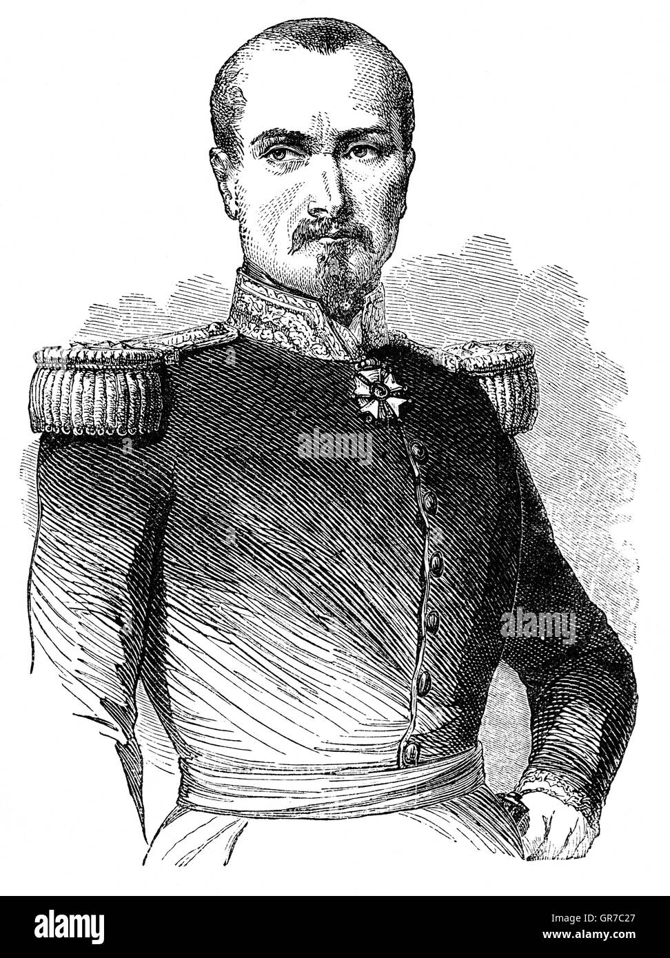 Pierre François Joseph Bosquet (1810 – 1861) was a French Army General,  Marshal of France and senator. At - Stock Image