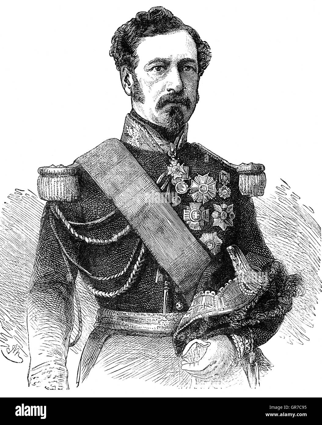 James George Smith Neill (1810 – 857)  was a Scottish military officer of the East India Company, who served during Stock Photo