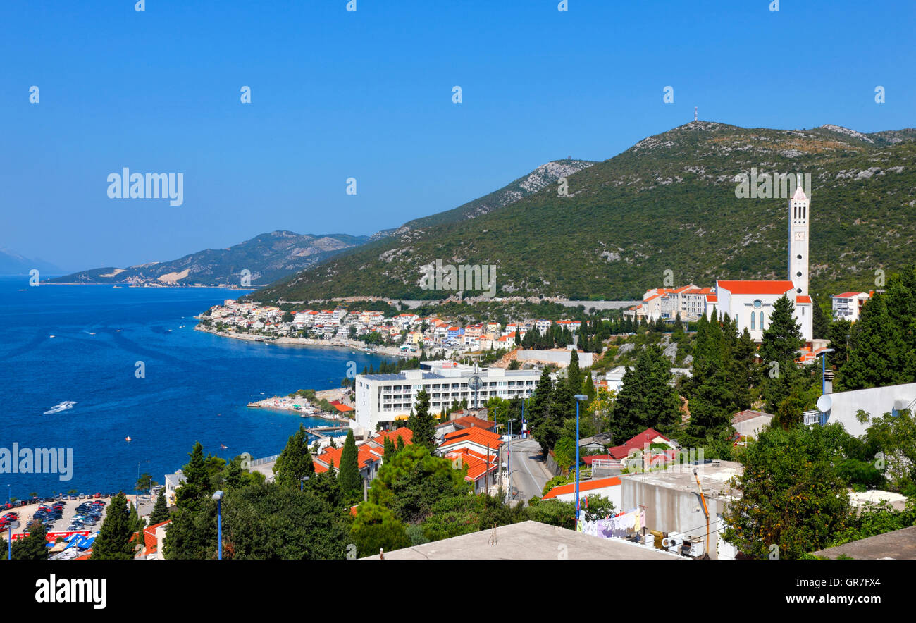 Neum, Bosnia and Herzegovina - Stock Image