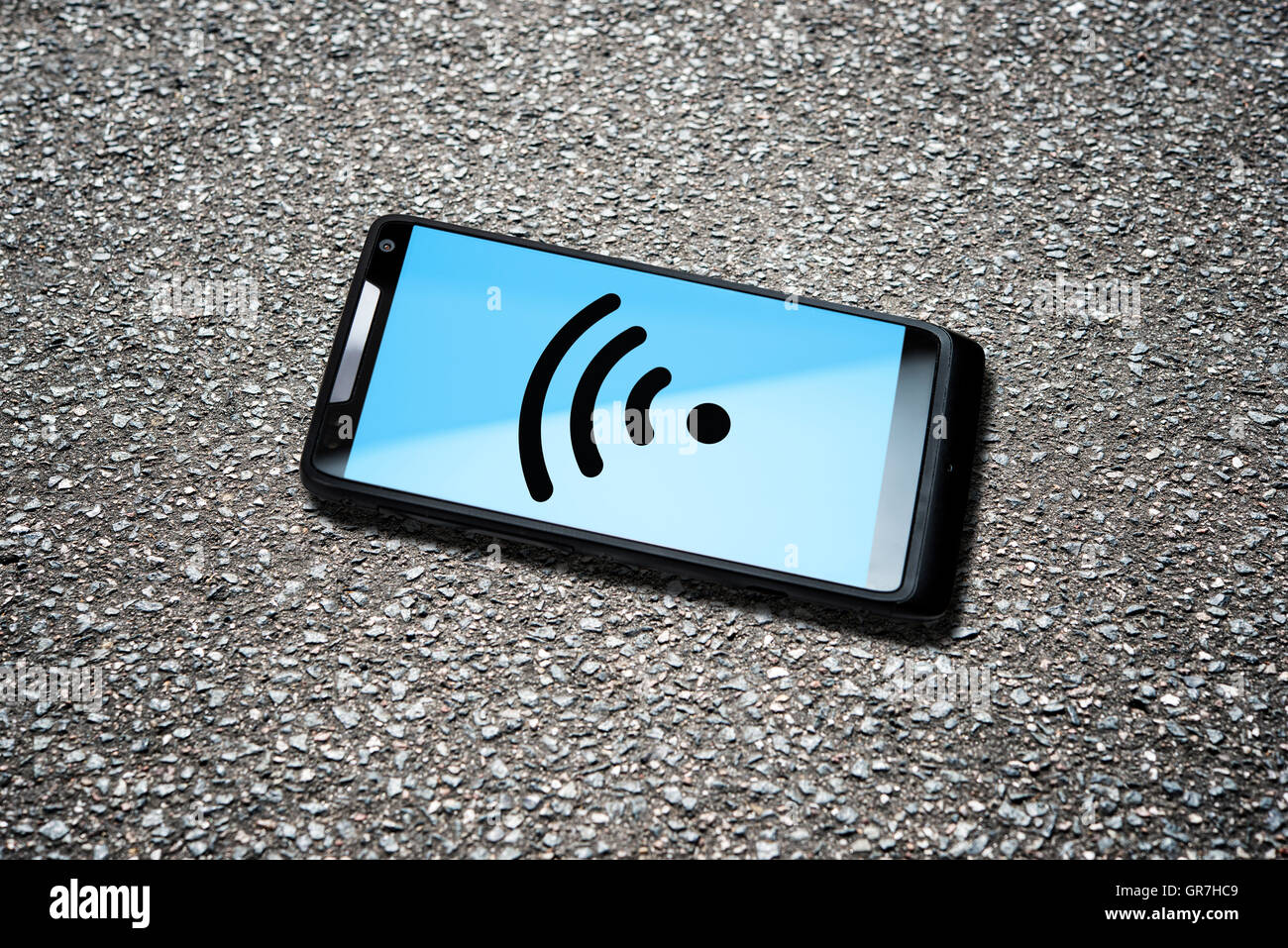 Wireless Lan Hot Spot - Stock Image