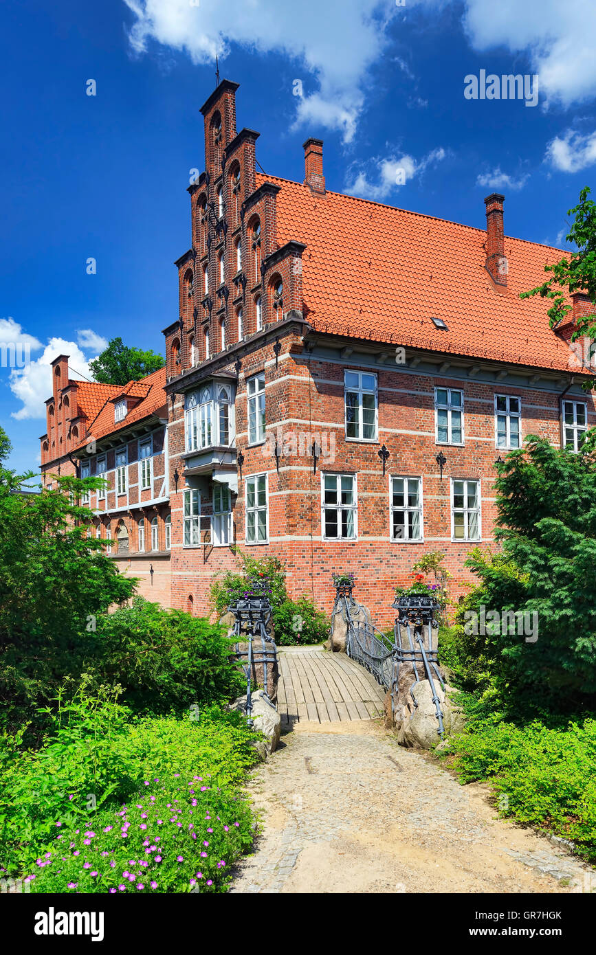 Bergedorf Castle In Hamburg, Germany - Stock Image