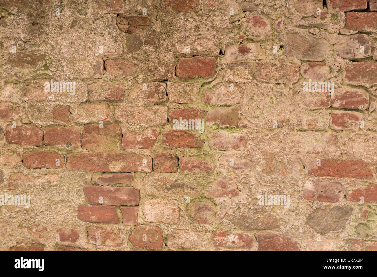 Brickwork Suitable As Background Image - Stock Image