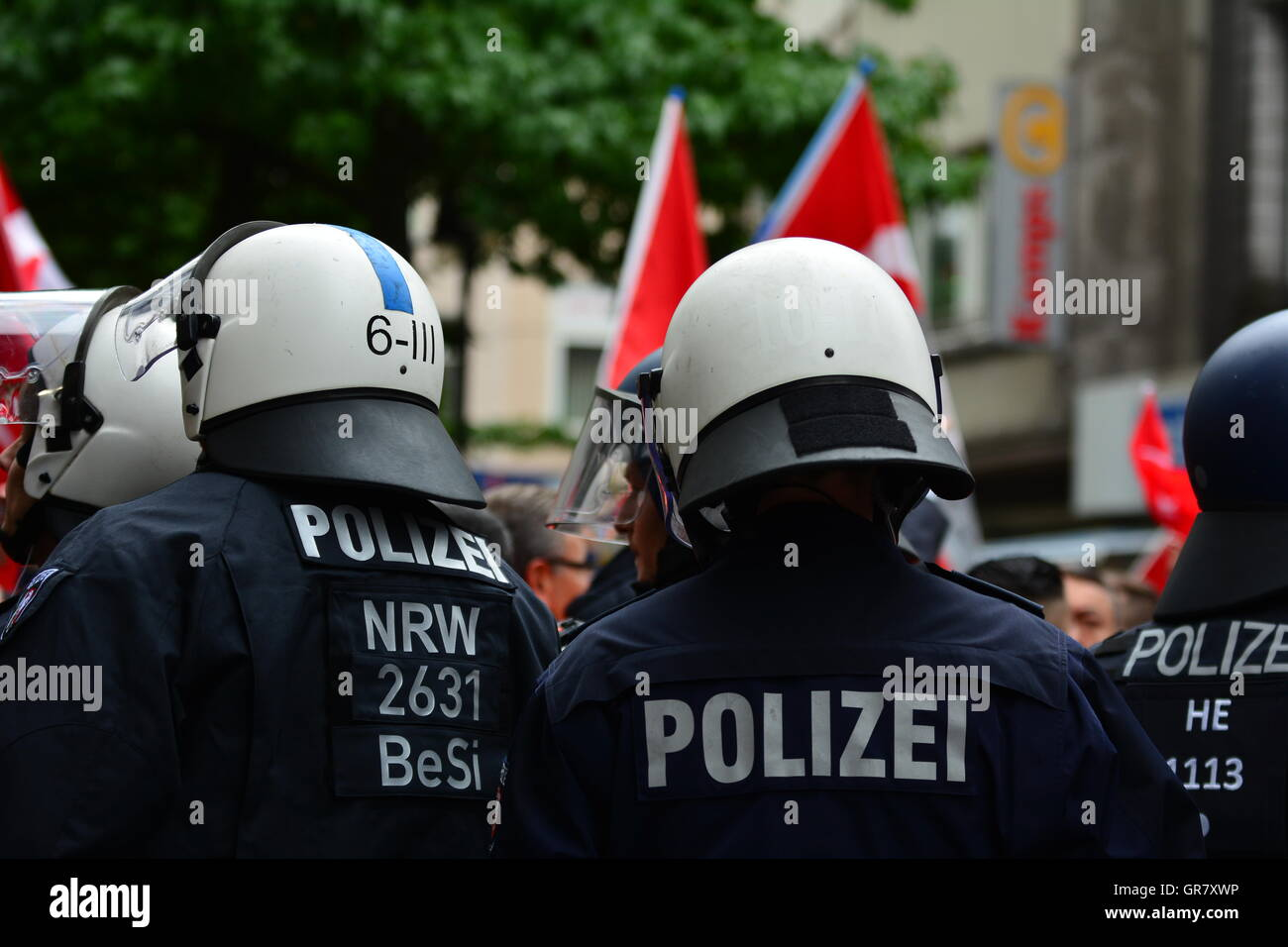 German Police - Stock Image
