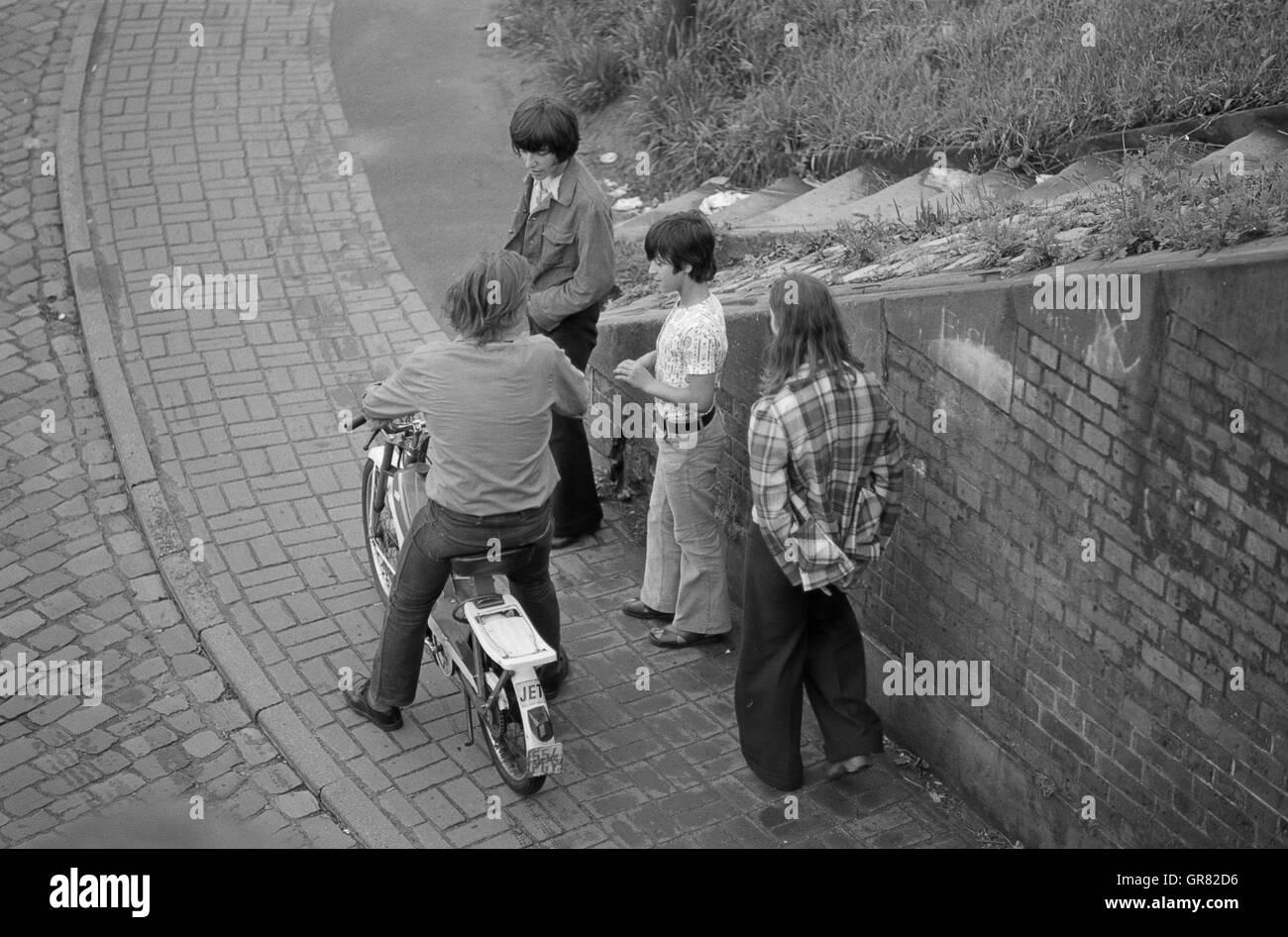 Boredom 1968 - Stock Image