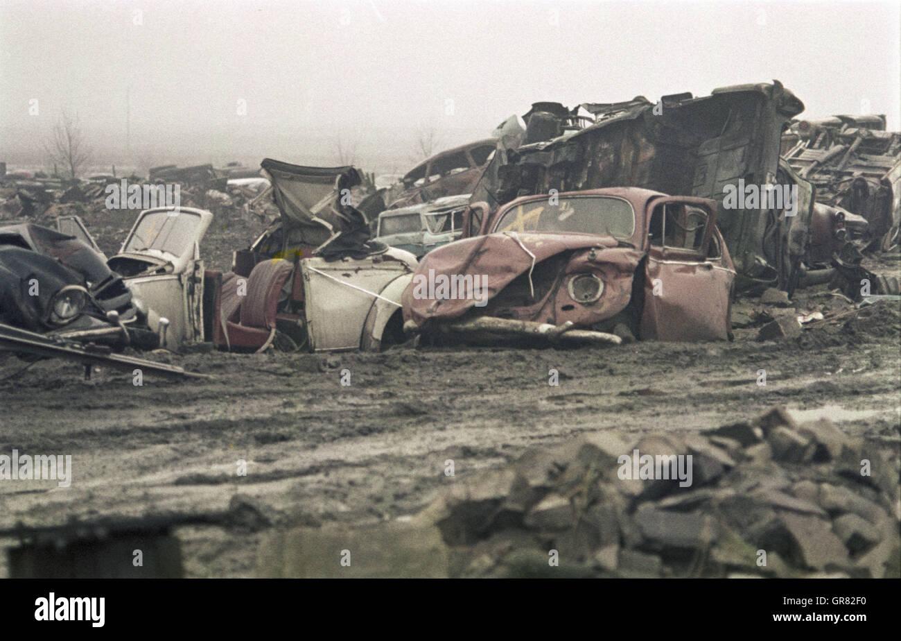 Landfill 1965 - Stock Image