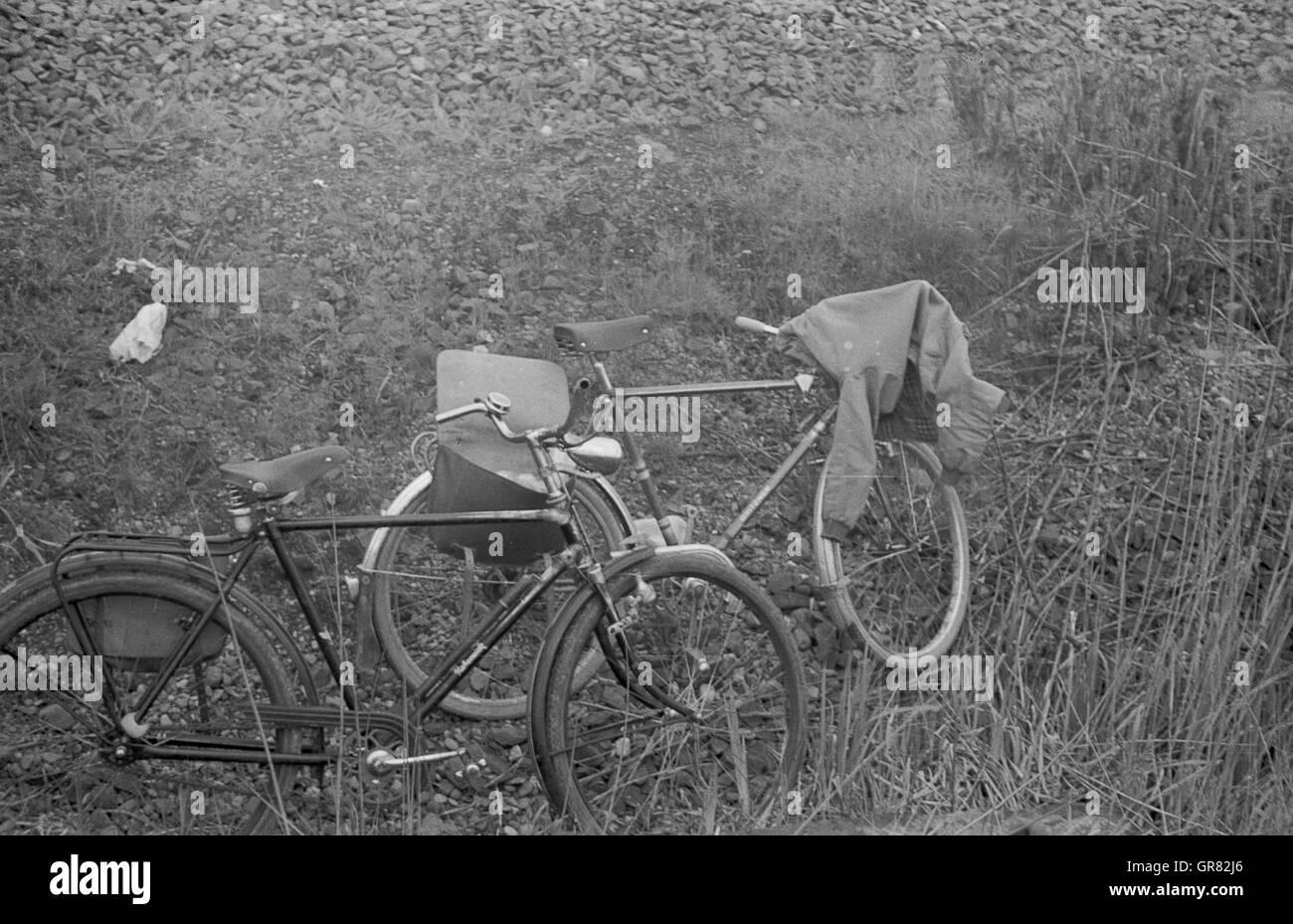 Bike Tour 1965 - Stock Image