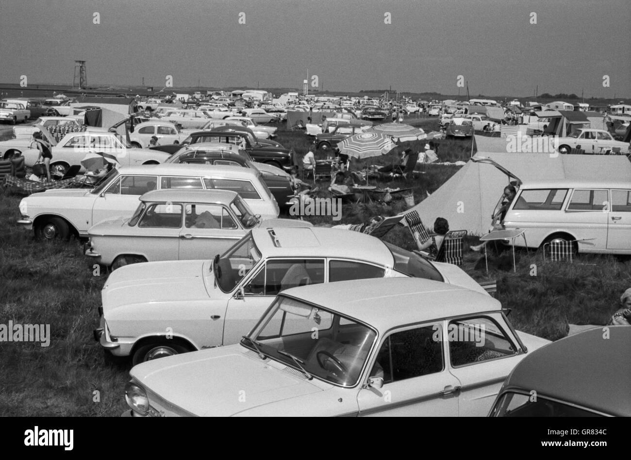 Beach Dorum 1966 Bw - Stock Image