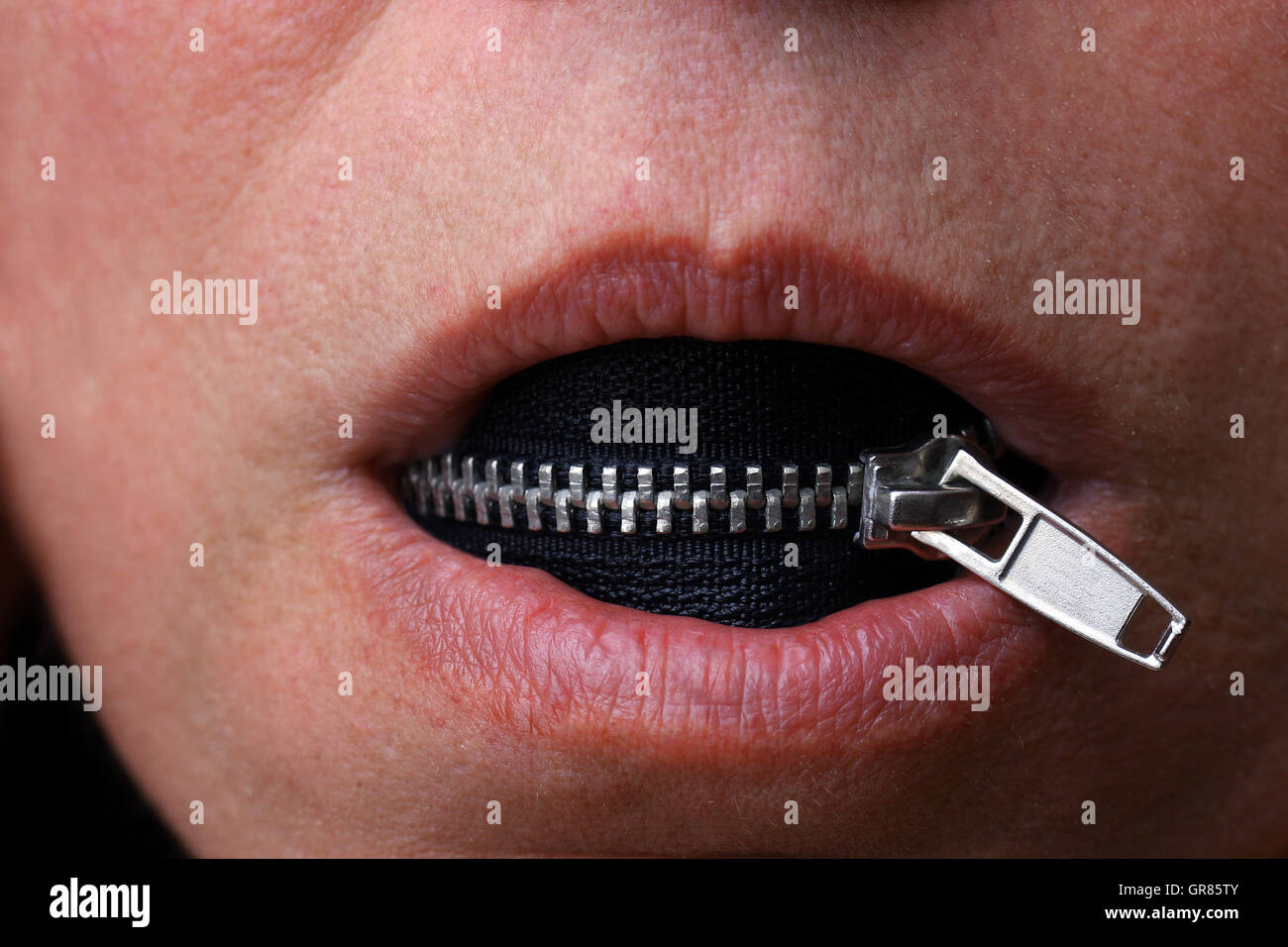 Censorship - Stock Image
