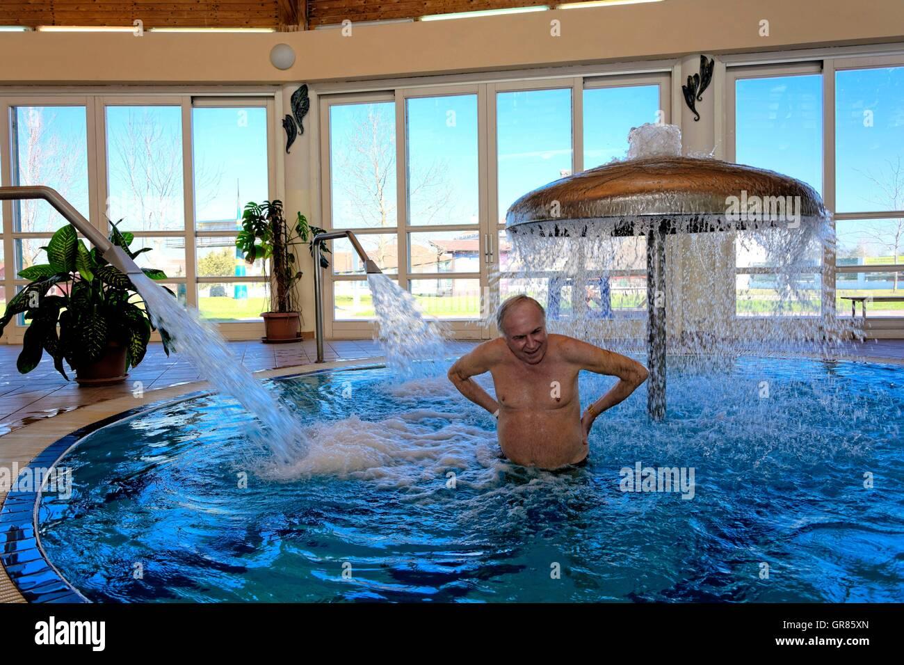 Bathing In Thermal Water Stock Photos & Bathing In Thermal Water ...